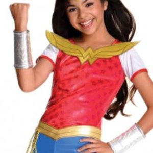 Wonder Woman Shirt Girls' Costume